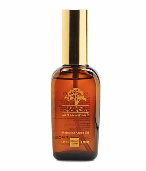 Billede af Arganmidas hårolie med arganolie 100 ml