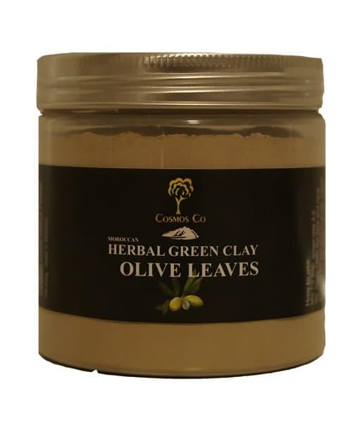 Grønt ler med Kaktusblomst / Olivenblad - Rødme, irritation & dehydreret hud