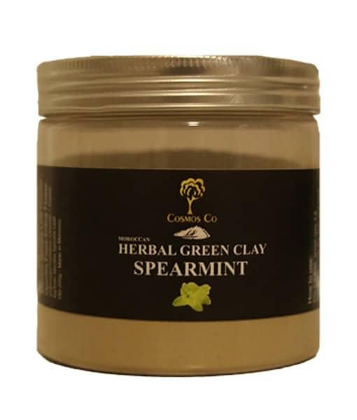 Grønt ler med Kaktusblomst/Spearmint - Irriteret & uren hud