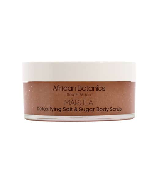 Image of   African Botanics Marula Detoxifying Salt & Sugar Body Scrub 200 Ml
