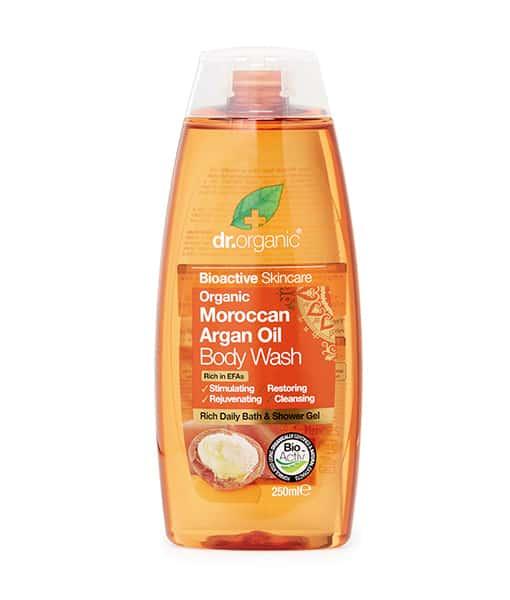 Billede af Dr. Organic Bath & shower Argan 250 ML