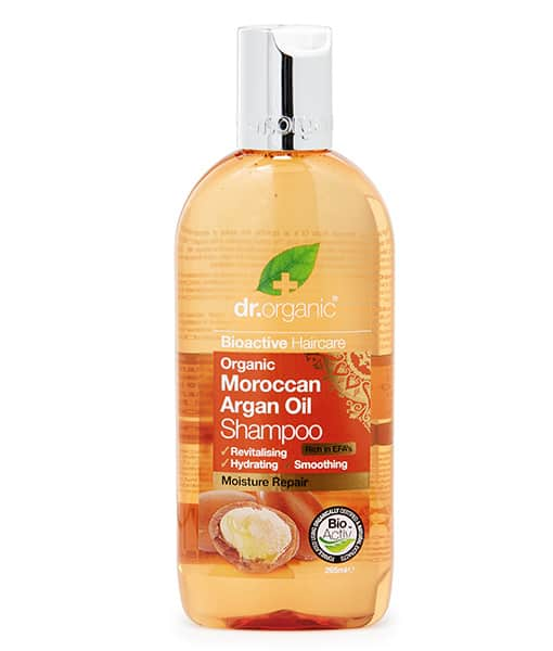 Image of   Dr. Organic Shampoo Argan 265 ml