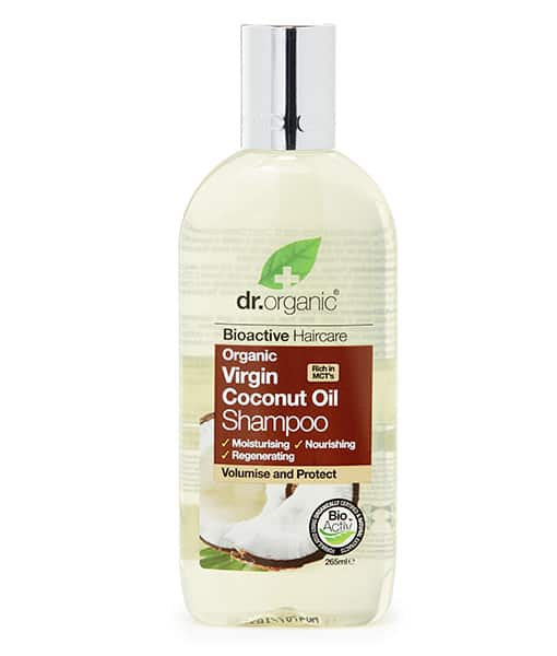 Image of   Dr. Organic Shampoo Coconut 265 ML