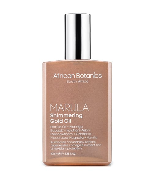 Image of African Botanics Marula Gold Shimmering Oil 100 ml