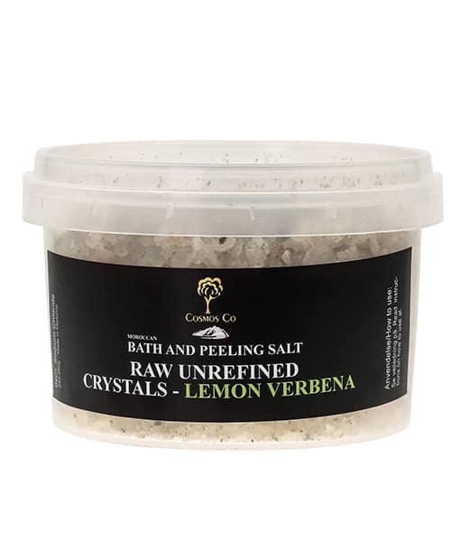 Image of   Cosmos Co Raw Mineral Salt Crystals med Lemon Verbana