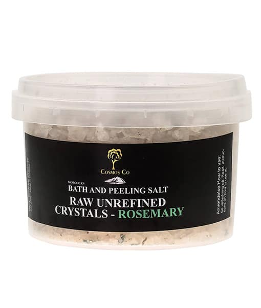 Image of   Cosmos Co Raw Mineral Salt Crystals med Rosmarin