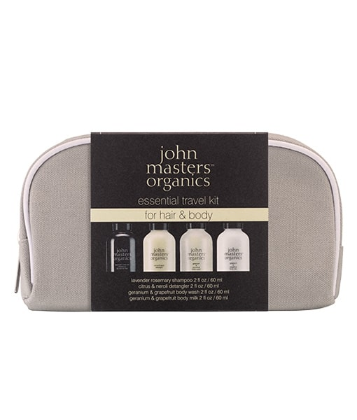 Image of   John Masters Essential Travel Kit For Hair & Body