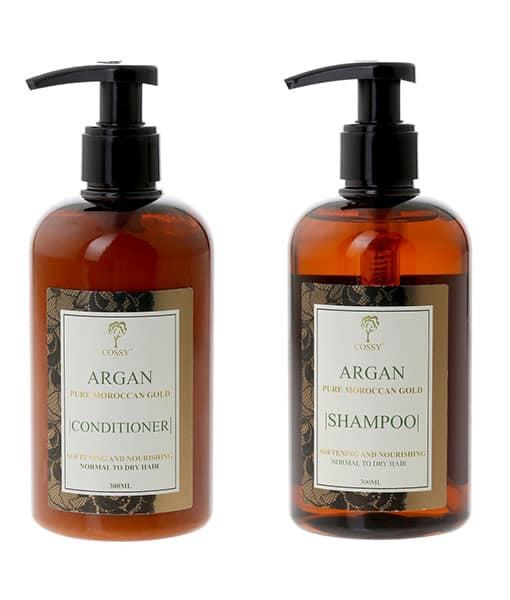 Image of   Cossy Argan Shampoo + Balsam tilbudspakke