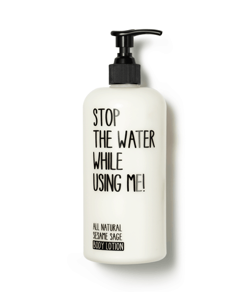 N/A Stop the water while using me! all natural sesame sage body lotion - 200 ml fra bella bellacci