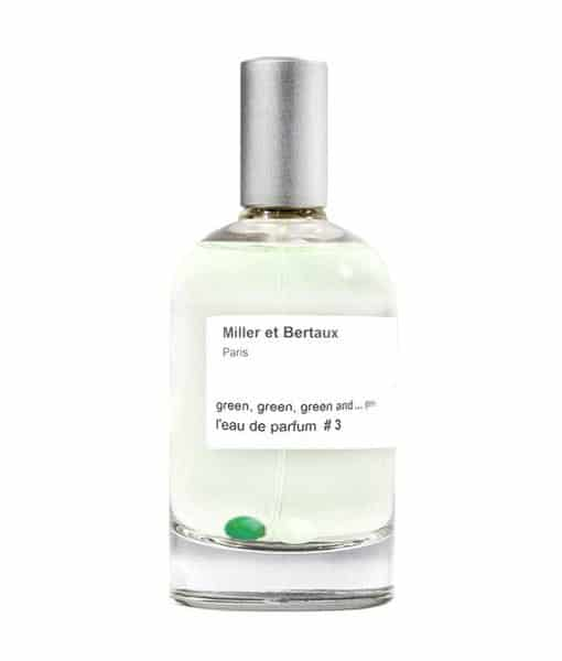 Image of   Miller et Bertaux - Green, green, green and… green 100 ml