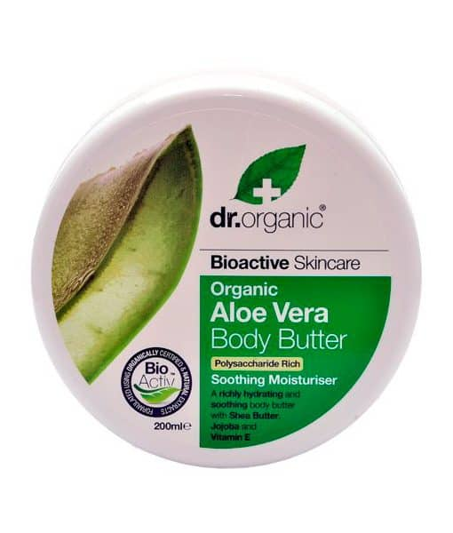 Image of   Dr. Organic Body Butter Aloe Vera 200 ml