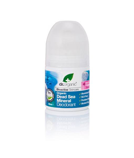 Image of   Dr. Organic Dead Sea Deodorant 50 ml