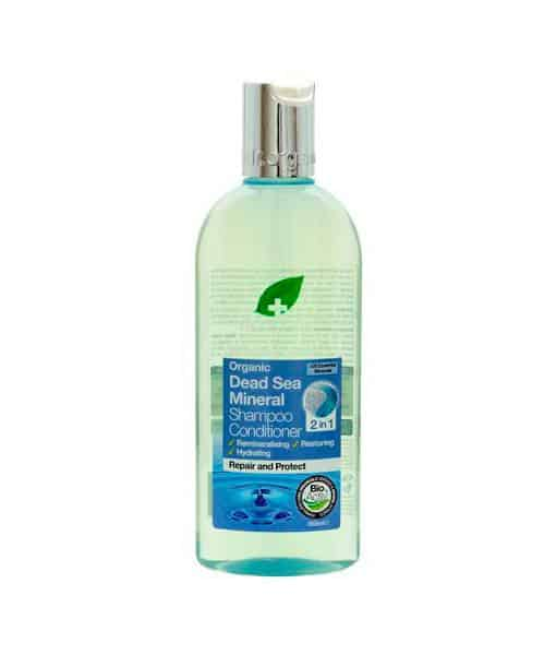 Image of   Dr. Organic Shampoo & conditioner Dead Sea 265 ml