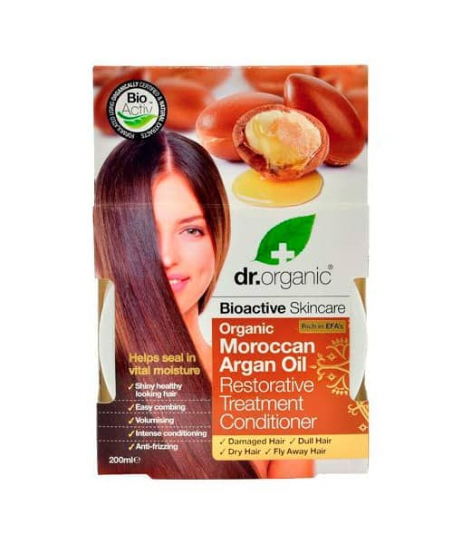 Dr. Organic Hair treatment conditioner Argan hårkur 200 ml