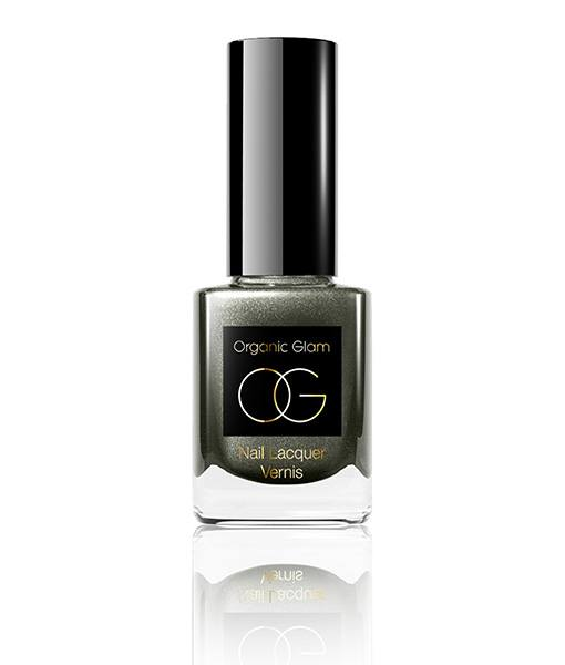 Image of   Organic Glam Deep Grey Neglelak 11 ml