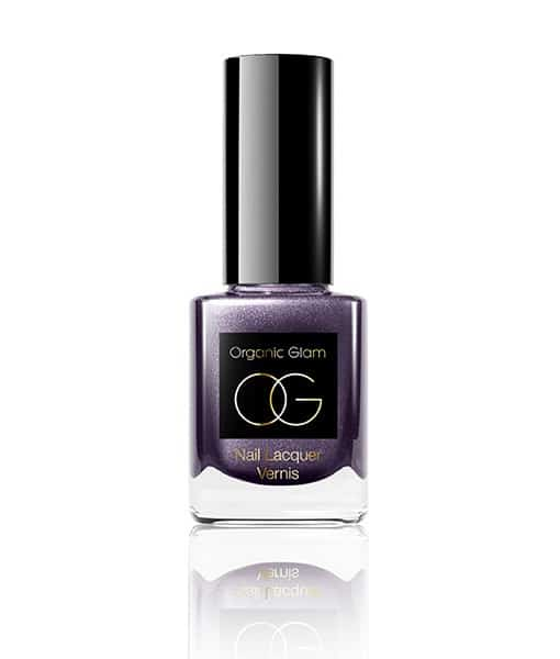 Image of   Organic Glam Deep Purple neglelak 11 ml