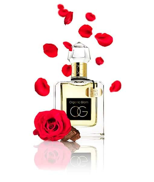 Image of   Organic Glam Eau De Parfum Spray Rose Oud 100 ml