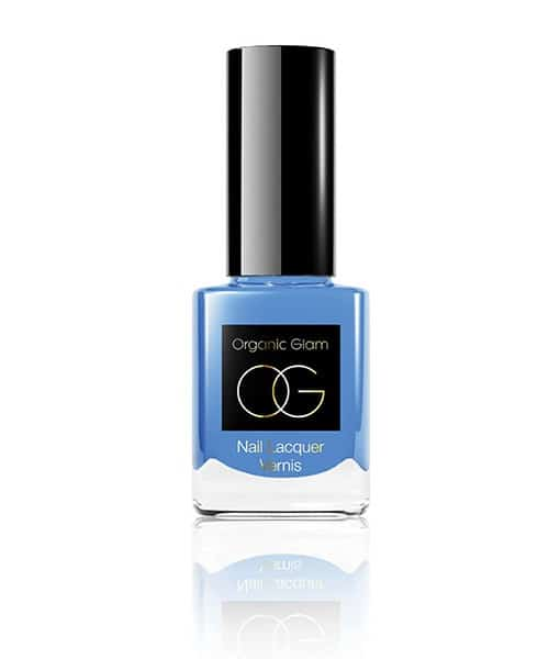 Image of   Organic Glam Pale Blue Neglelak 11 ml