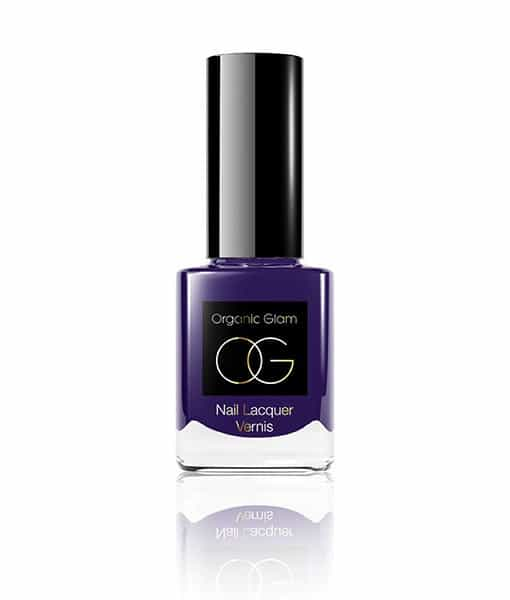 Image of   Organic Glam Purple Neglelak 11 ml