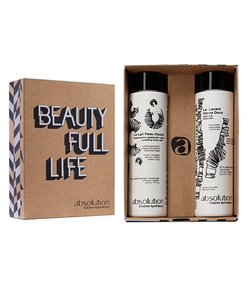 Image of   Absolution Lime, Sage & Honey- Beautyfull Life box - Blød hud fra top til tå.