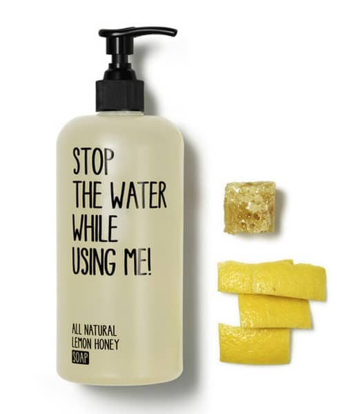 Stop The Water While Using Me! Lemon Honey Soap - 500 ml