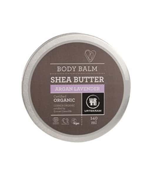 Urtekram Shea Butter Argan Lavendel Organisk 140 ml