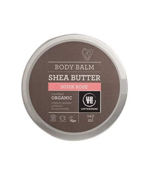 Shea butter musk rose organisk 140 ml fra N/A fra bella bellacci