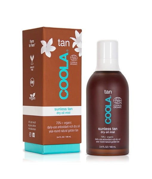 COOLA Dry Oil Bodymist med Tan med arganolie - 100 ml
