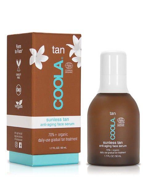 Billede af COOLA Organic Tan Anti-aging Face Serum med arganolie
