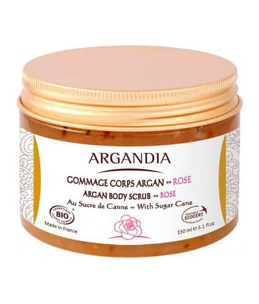 Image of   ARGANDIA Argan Body Scrub Rose 150 ml