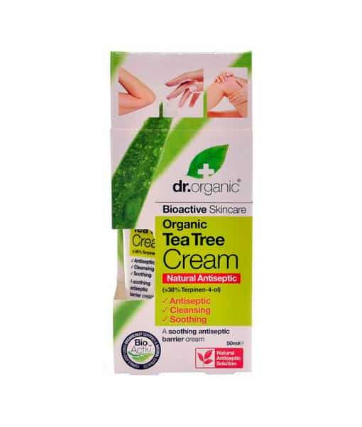 Dr. organic antiseptisk tea tree cream 50 ml fra N/A fra bella bellacci