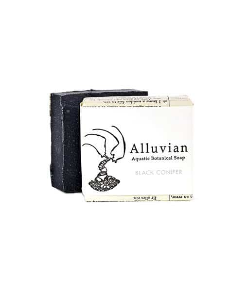 Image of Alluvian Black Connifer Bar Soap 99,2 g