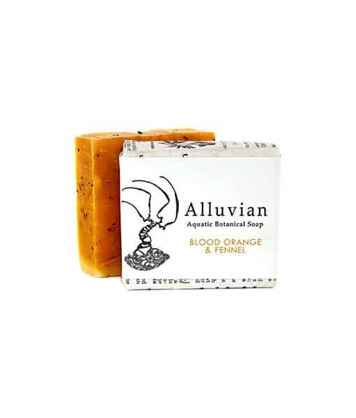 Image of Alluvian Blood Orange & Fennel Bar Soap 99,2 g