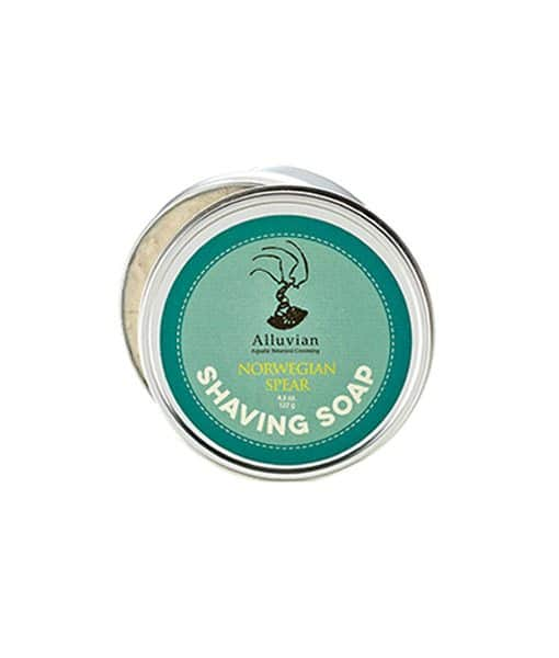 Image of Alluvian Norwegian Spear shave Soap 122 g