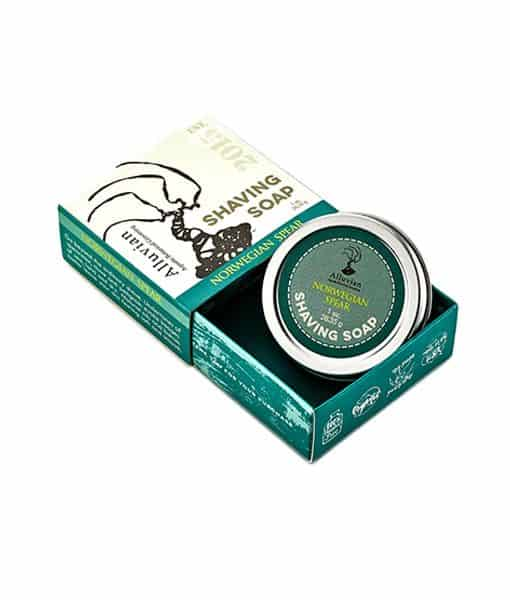 Image of   Alluvian Norwegian Spear shave Soap TVL 28,35 g