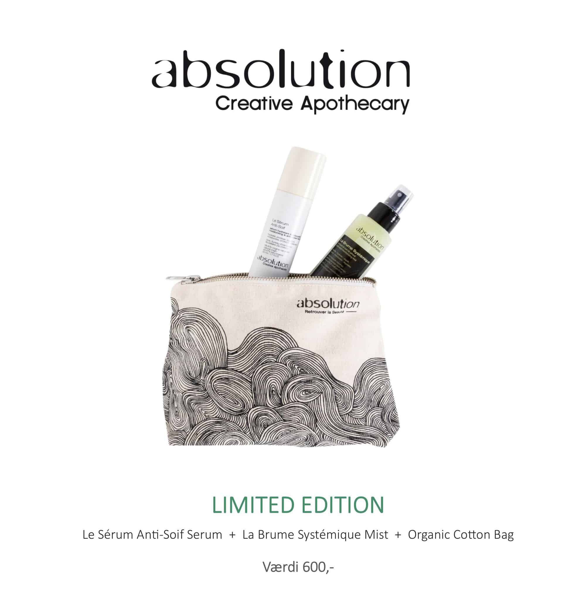 Image of   Absolution Taske, Anti-soif serum & mist La Brume