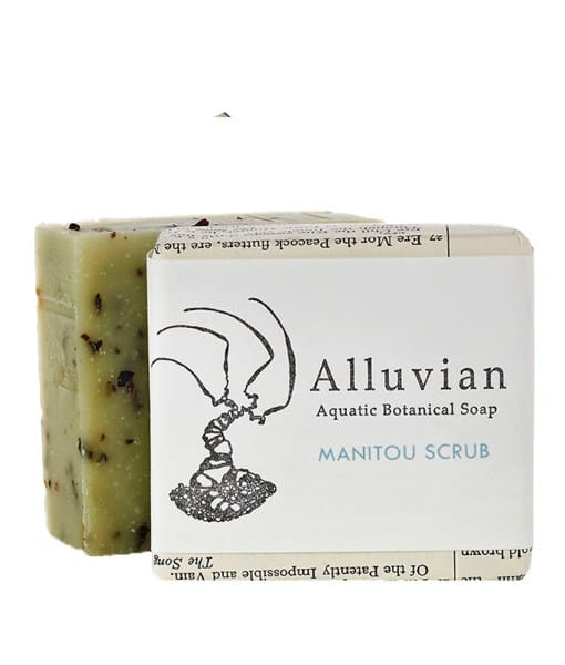 Image of Alluvian Manitou Scrub Bar Soap 99,2 g
