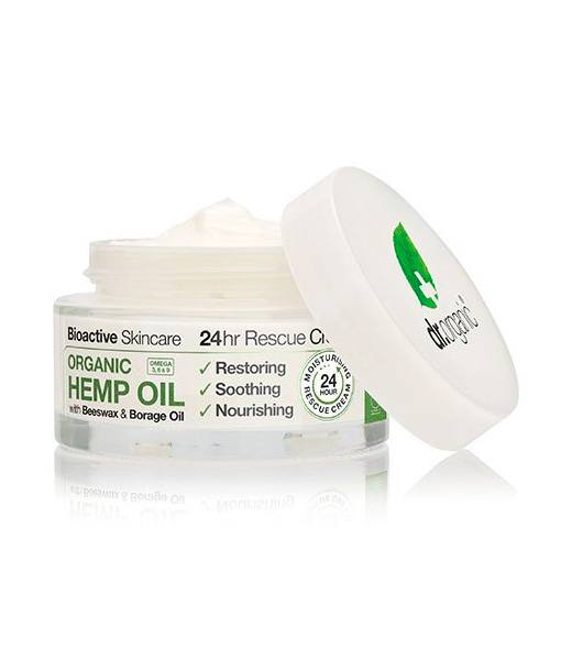 Image of   Dr. Organic Hemp Oil 24 hr Rescue cream 50 ml