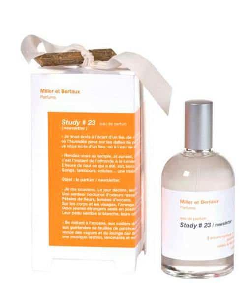 Image of   Miller et Bertaux - Study #23 newsletter Eau de Parfum 100 ml