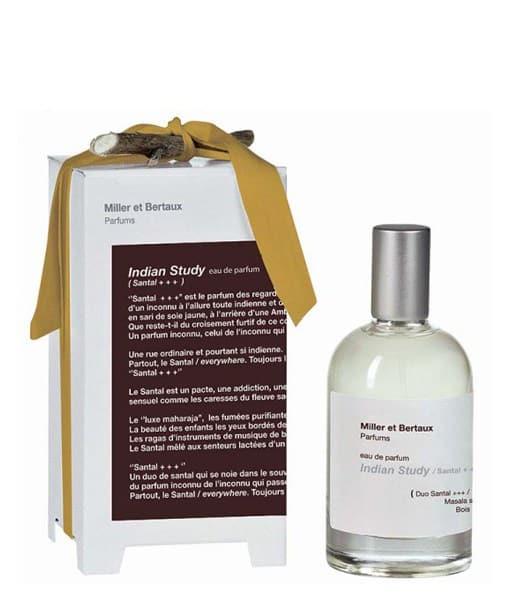 Image of   Miller et Bertaux - Indian Study/santal+++ Eau de Parfum 100 ml