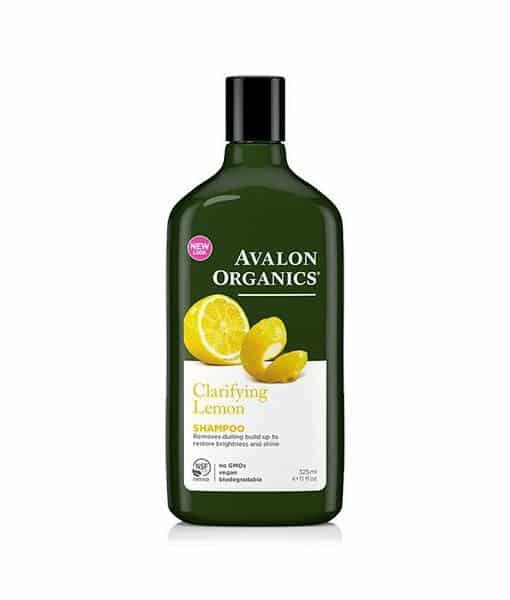 Image of   Avalon Organics Økologisk Shampoo Lemon Clarifying 325 ml - fedtet hår