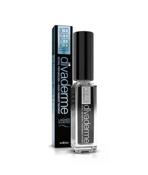 Image of   Divaderme Fiber Wings II Mascara Black med Arganolie 9ml