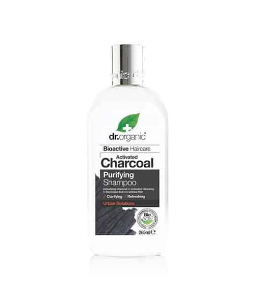 Image of   Dr. Organic Charcoal Purifying Shampoo 265 ml
