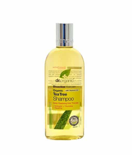 Image of   Dr. Organic Tea Tree Shampoo 265 ml
