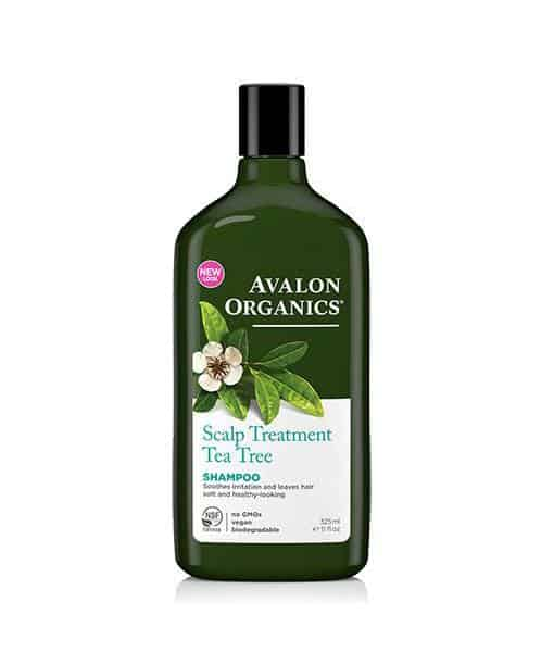 Image of Avalon Organics Økologisk Tea Tree Scalp Treatment 325 ml Fedtet og irriteret hovedbund