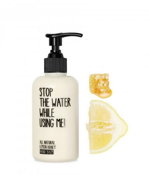 Stop The Water While Using Me! All Natural Lemon Honey Hand Balm - 200 ml