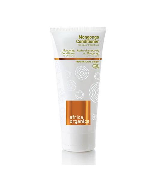Image of   Africa Organics Øko Balsam Mongongo til farvet/fint hår UV 200 ml