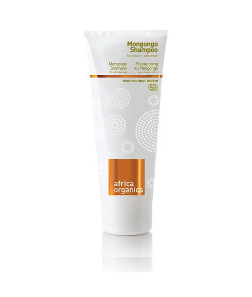 Image of   Africa Organics Øko Shampoo Mongongo til farvet/fint hår UV 210 ml