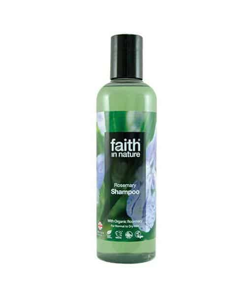 Image of   Faith in nature Rosmarin Shampoo normalt/fedtet hår 250 ml