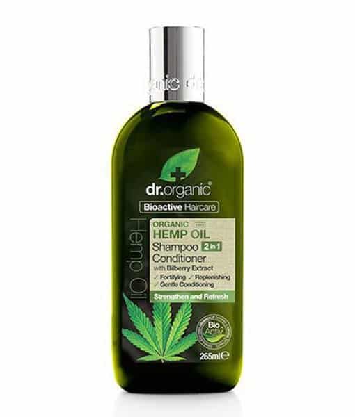 Image of   Dr. Organic Hemp Oil Shampoo & Conditioner 265 ml